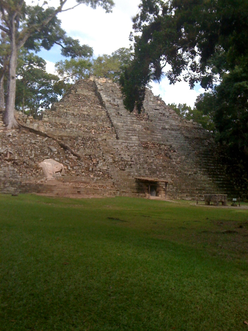 Day 2 Copan Ruins temple