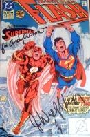 Flash Comic signed by John Wesley Shipp