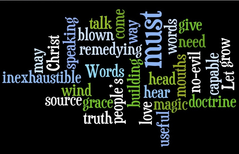 the power of words analyzing mlks 'tis a strange mystery, the power of words life is in them, and death a word can send the crimson colour hurrying to the cheek though, defined as a a breath of passing air, a words is much more than that by way of expression of our thoughts, feelings and emotions.
