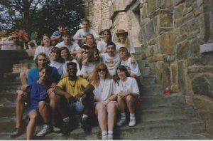 Shades Valley Presbyterian Church HS Youth Group at Montreat Youth Conference, July 1991