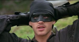 "The Dread Pirate Roberts (Cary Elwes) from ""The Princess Bride"" 1987."