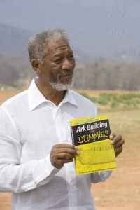 "Morgan Freeman as God in 2007's ""Evan Almighty"""