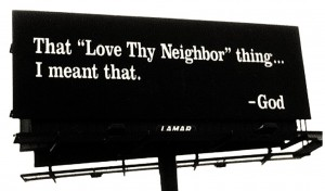 Love Neighbor Billboard