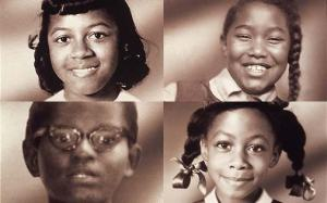 4 Little Girls Killed in the Sixteenth Street Baptist Church Bombing, Sept. 15, 1963: Cynthia Wesley, Carole Robertson, Addie Mae Collins and Denise McNair