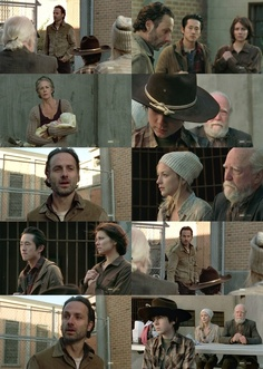 "Courtesy of Google Images,  Photo Collage of still images from AMC's The Walking Dead, Episode 15 ""This Sorrowful Life"" March, 2013"