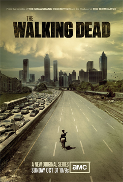 AMC's Walking Dead, Season 1 commercial poster, courtesy of Google Images