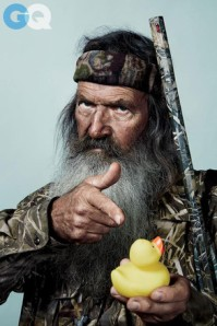 Phil Robertson on the cover of GQ, courtesy of Google Images and GQ Magazine