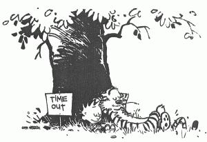 Calvin & Hobbes, expert sabbatical takers