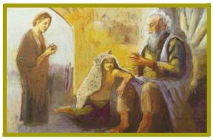 Isaac's Blessing of Jacob by Suzanne Cherny, Google Images