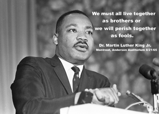 MLK Quote at Montreat