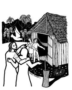 Cerezo Barredo's Weekly Gospel Illustration, John: 25-27